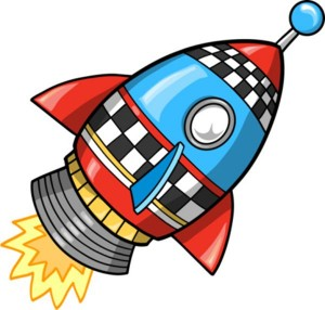 website launch rocket